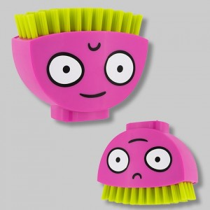6. 44417 Happy Nail Brush-Pink BD 4.9