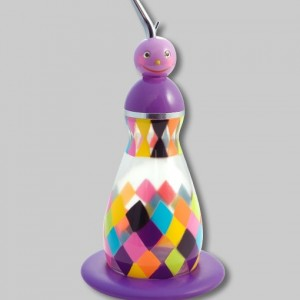 8. 44426 Oil Bottle-Violet BD 13.9