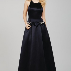 Satin Ballgown Prom Dress-32201